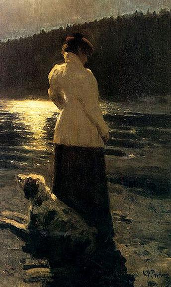 Ilya Repin-Noche de luna